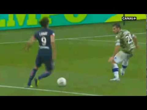 Cavani AWESOME GOAL PSG vs Bastia 3-0