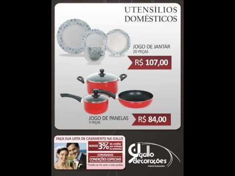 Gallo Decorações - Dia das Mães 2010 - www.gallodecor.com.br