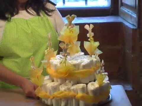 como hacer un pastel de pa ales para el baby shower de conejito
