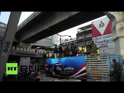 Thailand: Anti-government protesters disrupt polling