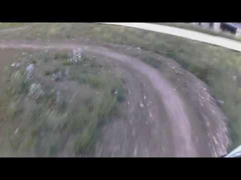 Raw dirtboard run, first test of new board,trucks