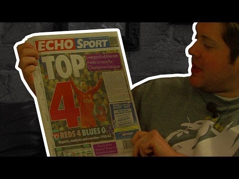Liverpool 4-0 Everton: Fan Reactions and The Back Pages (Uncensored)