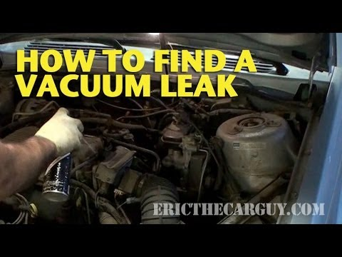 How To Find A Vacuum Leak Ericthecarguy Youtube