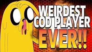 DUMBEST & WEIRDEST COD PLAYER OF ALL TIME!