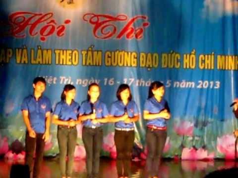 THPT Thanh Sơn - Phần thi chào hỏi