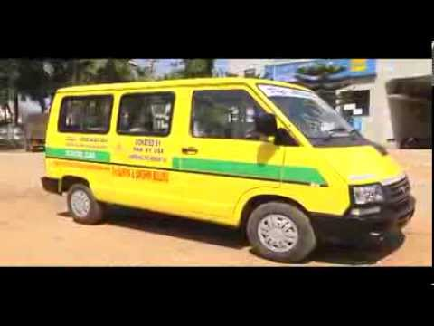 Dharithree School Van, Donated by 3-H, U.S.A