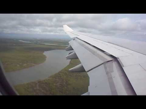 Conakry Gbessia Airport 26/09/2013 Air France AF0724 Landing, atterrissage
