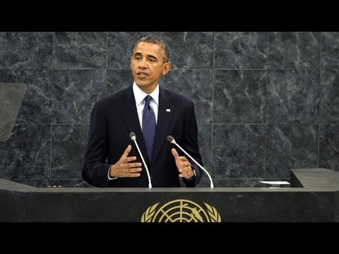 President Obama's Full UN Address (2013)