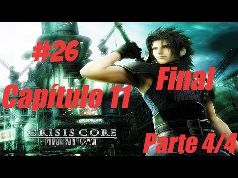 Crisis Core Final Fantasy VII Detonado #26 Capítulo 11 Parte 4/4 Final