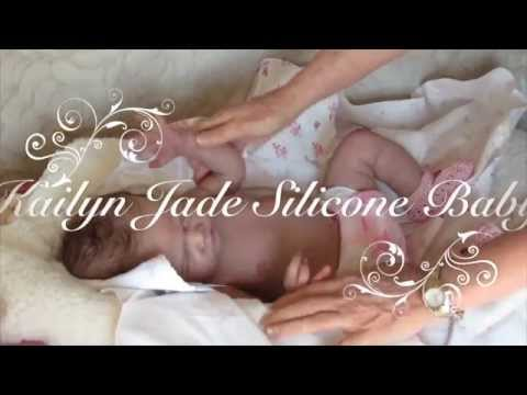 Kailyn Jade - Full body silicone baby doll by Romie Strydom