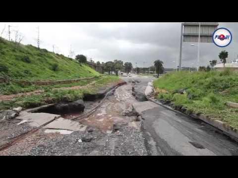مخلفات فيضانات سلا