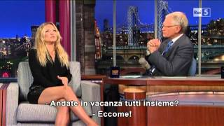 Kate Hudson Al David Letterman 24-04-2013 (sub Ita)
