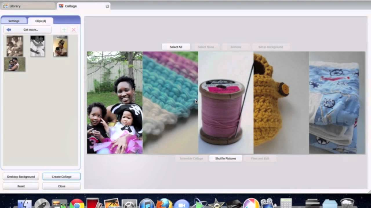 how to create a slideshow on facebook cover