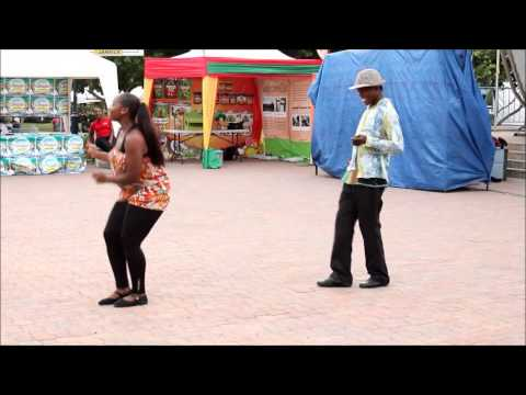 Jamaican Reggae Dancehall Routine - By: Dance Expressions Part 1