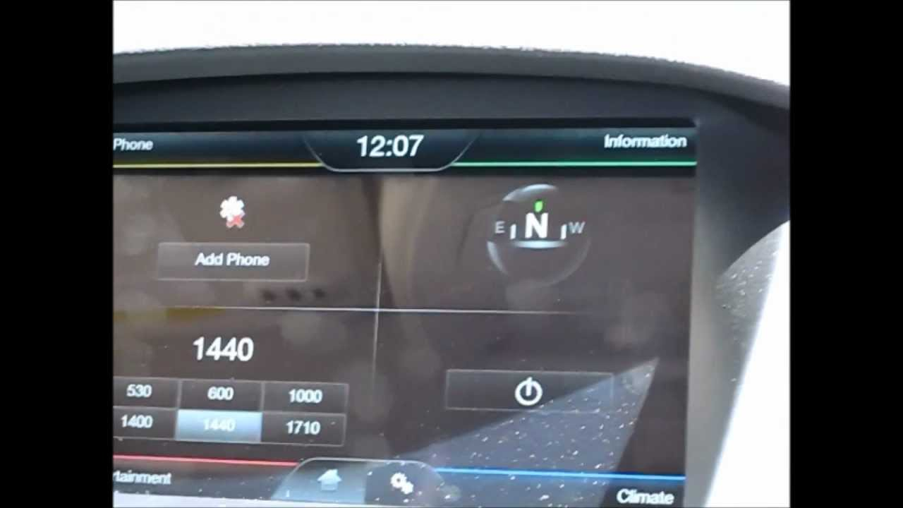 MyFord Touch Sync Update Gen2 V3 0