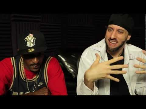 RAKIM in the studio with R.A. the RUGGED MAN (Rakim discusses BIG DADDY KANE)