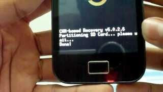 Particionar Micro SD En Galaxy Ace (Aumentar Memoria