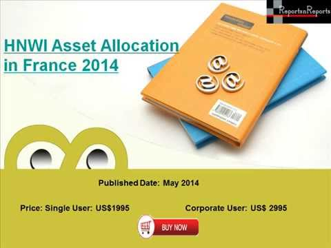 HNWI Asset Allocation in France 2014