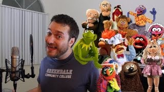 Multiple Muppet Imprssions in one Minute