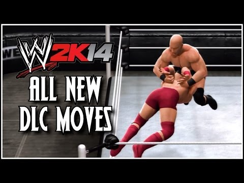WWE 2K14 DLC Pack 2 - All New DLC Moves In Action!