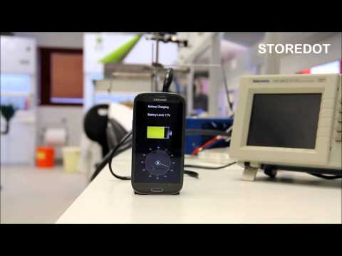 StoreDot Flash-Battery Demo