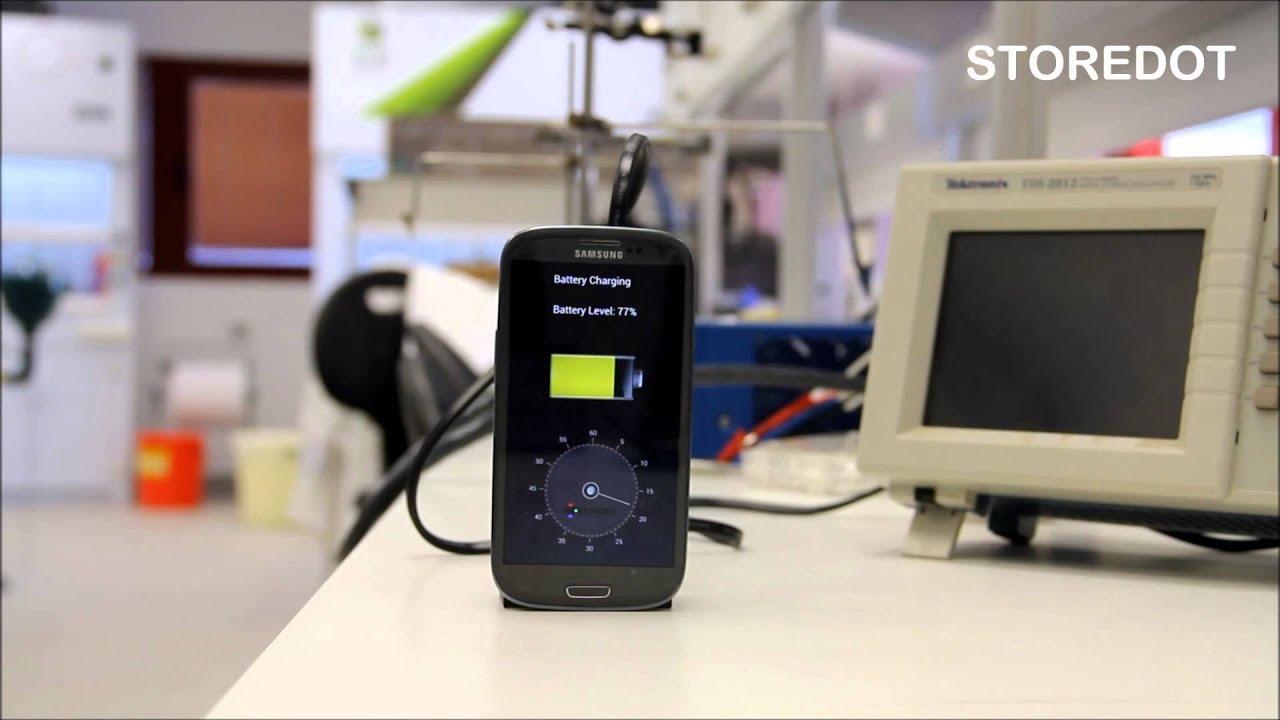REVOLUTION : Smartphone rechargé en 30 secondes