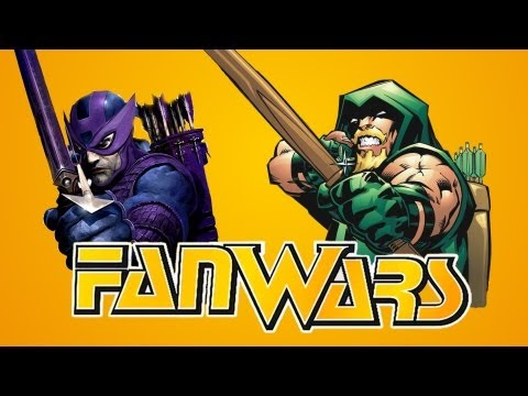 Green Arrow VS Hawkeye - The Best with a Bow - FanWars - Ep8