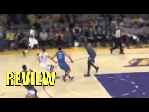 Thunder vs. Lakers Jodie Meeks Back To Back Three Pointers Sunday 03-09-2014 REVIEW