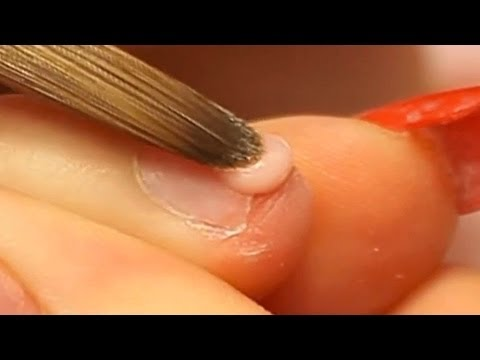 How to Apply Acrylic Nails on Short Bitten Nails Tutorial Video by Naio Nails