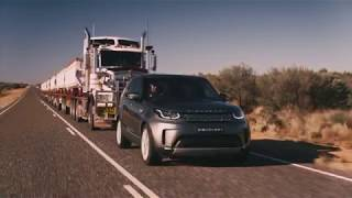 Land Rover Discovery Tows 110 Tonne Road Train