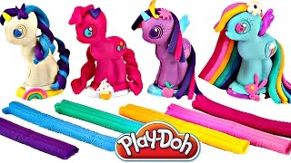 Play Doh MY LITTLE PONY Make N' Style Ponies #1 Rainbow