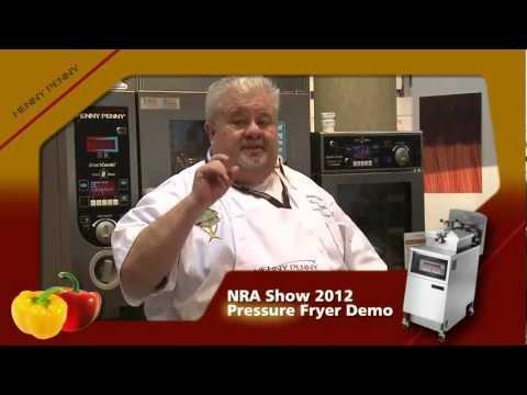 Henny Penny Pressure Fryer Demo (NRA 2012)
