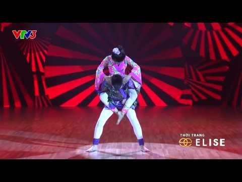 HOÀNG SƠN vs THUỲ DƯƠNG  DANCESPORT  VÒNG ĐỐI ĐẦU BƯỚC NHẢY HOÀN VŨ NHÍ 2014