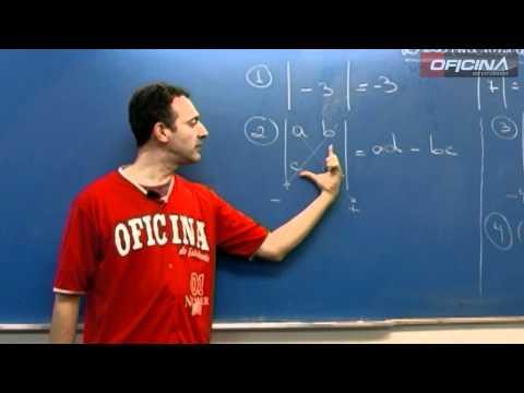 Dica de Matemática - Determinantes