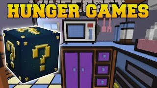 Minecraft: THE SIMSPONS KITCHEN HUNGER GAMES - Lucky Block Mod - Modded Mini-Game