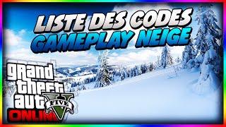 GTA 5 Gameplay Avec Chute De Neige + Liste Des Cheat Codes