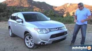 2014 Mitsubishi Outlander GT Test Drive & 7-Passenger