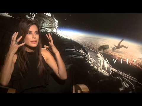 Sandra Bullock Says 'Gravity' Shoot Brought