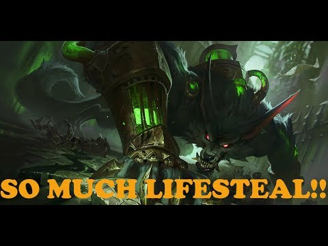 So Much Lifesteal! Warwick Jungle Commentary Guide (League of Legends)