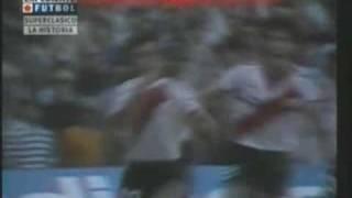 Goles Del Beto Alonso A Boca (0-2) Campeonato 85-86 River