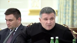 Конфлікт Авакова і Саакашвілі на засіданні ради реформ