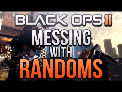Black Ops 2 - Messing with Randoms #15! (GIRL CLUTCH & ANGRY PLAYERS!)
