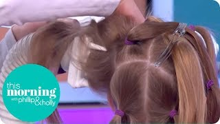 Removing Nits With a Hoover | This Morning