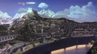 Hans Peter Porsche TraumWerk Modellbahn 360 Grad Panorama