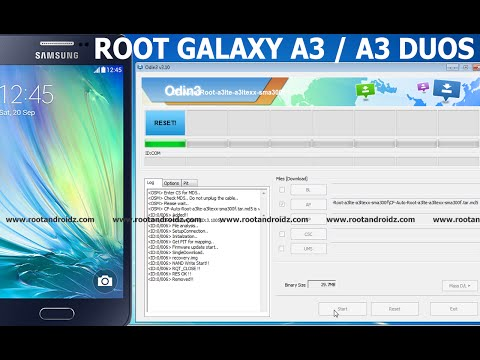 ROOT GALAXY A3/A3 DUOS - LOLLIPOP 5.0.2 ROOT
