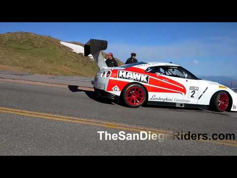 pikes peak crash gtr ppr nissan gtr randy pobst takes. Black Bedroom Furniture Sets. Home Design Ideas