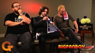 THE WORLD39;S END Interview  Nick Frost, Edgar Wright, Simon Pegg