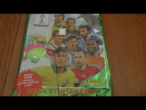 MESSI LIMITED EDITION MEGA STARTER PACK ☆ panini ADRENALYN XL WORLD CUP 2014 Trading Cards ☆ opening