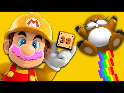 RAGING RAINBOW!! | Mario Maker #30