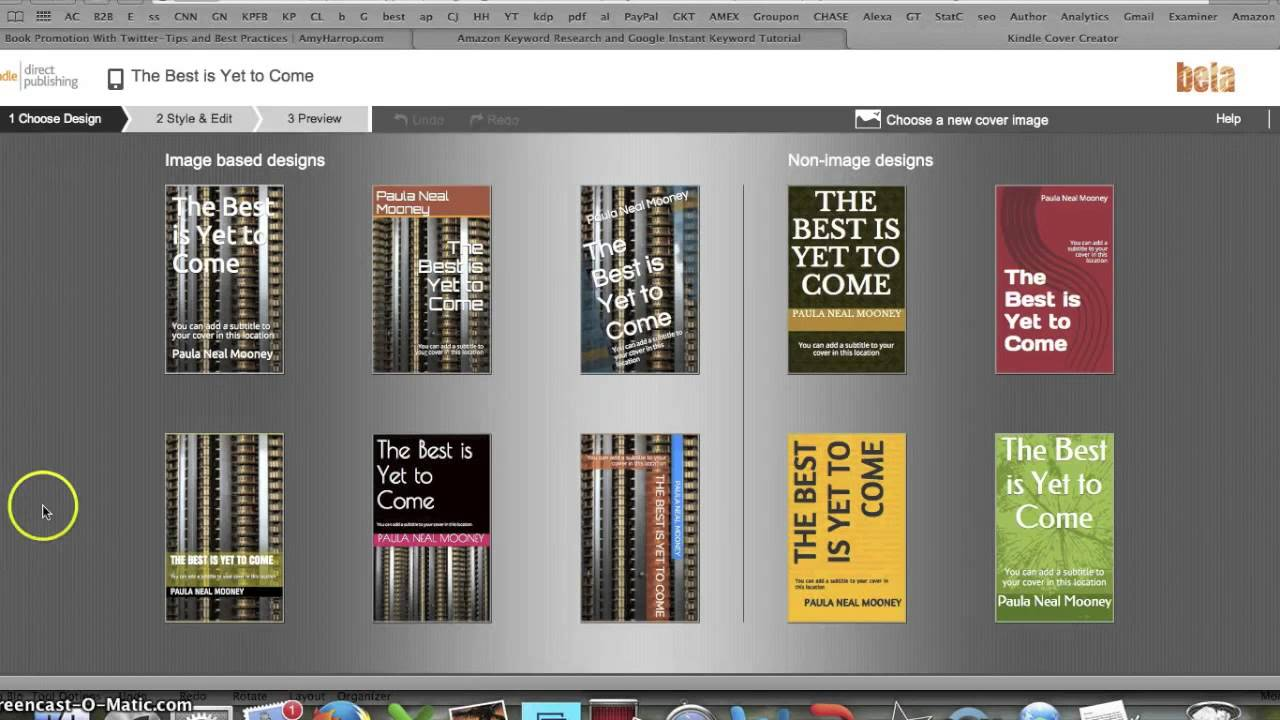 How To Make A Book Cover For Kindle ~ Free kindle book covers how to make a amazon ebook
